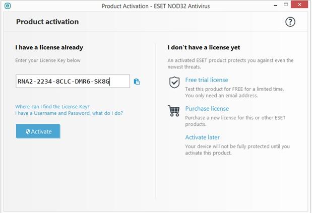 مراحل نصب آنتی ویروس ESET Nod32